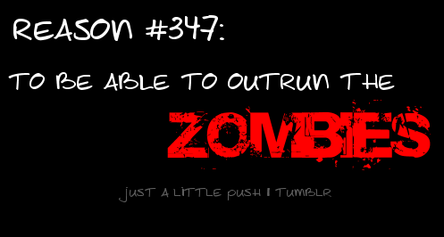 Outrun the ZOMBIES!