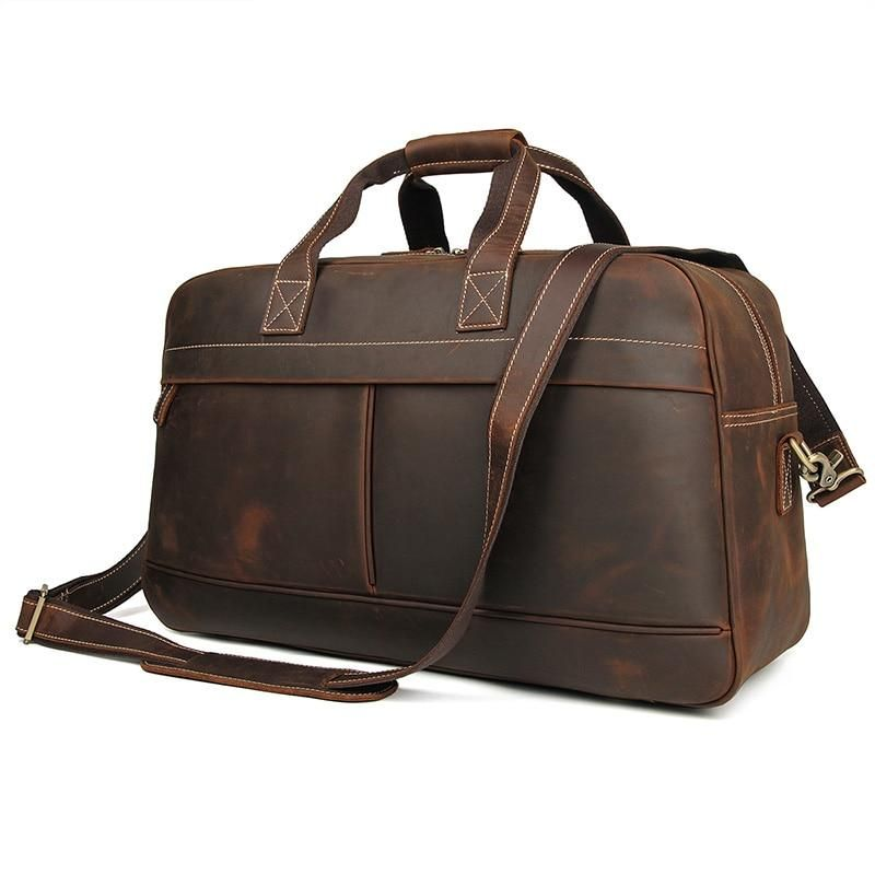 Voyager Leather Duffle Bag  Dapper  Leather  TravelBag  DuffleBag   OvernightBag  WeekendBag 30f0510139881