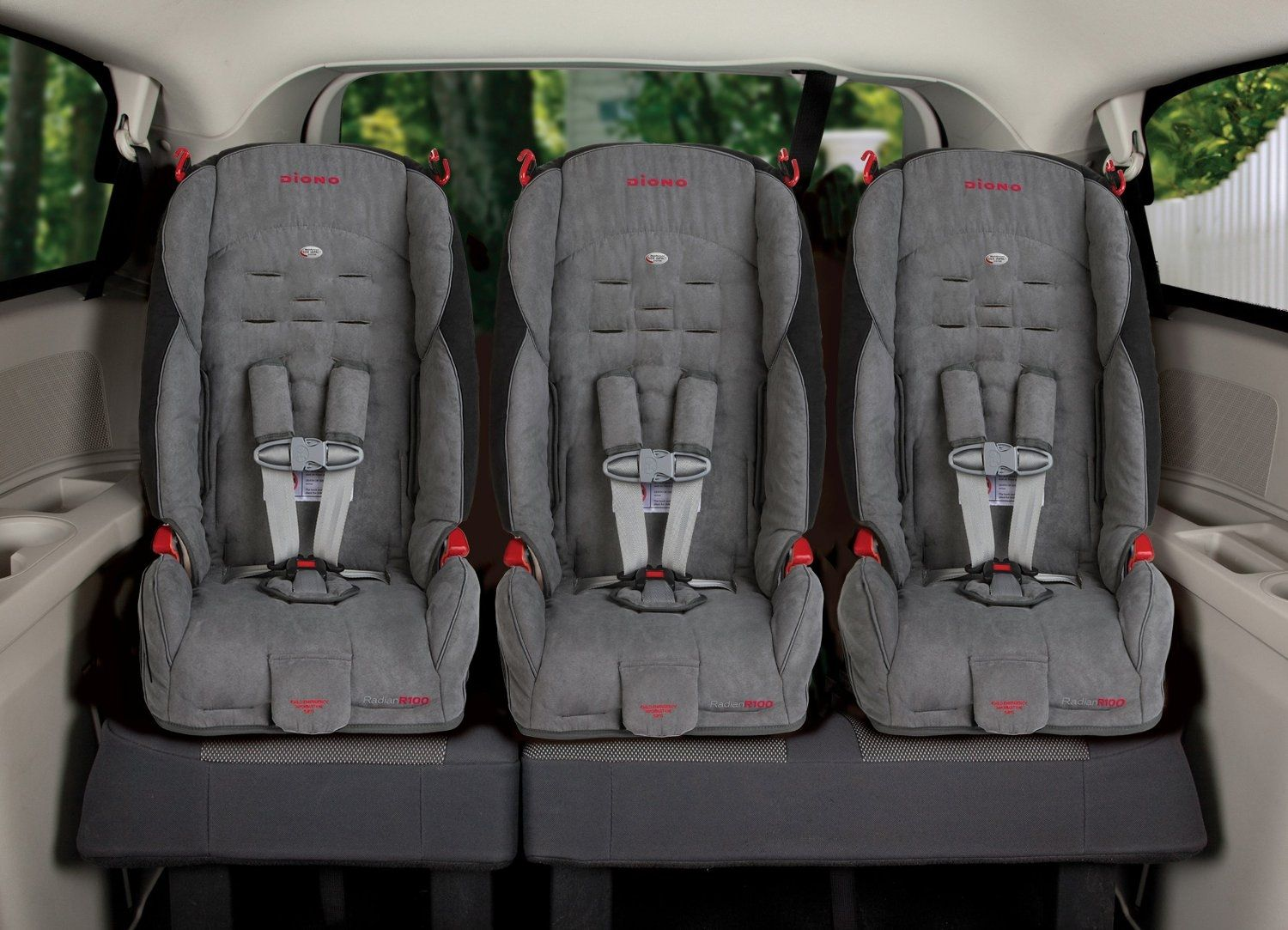37 car seats that fit 3across in most vehicles (Updated