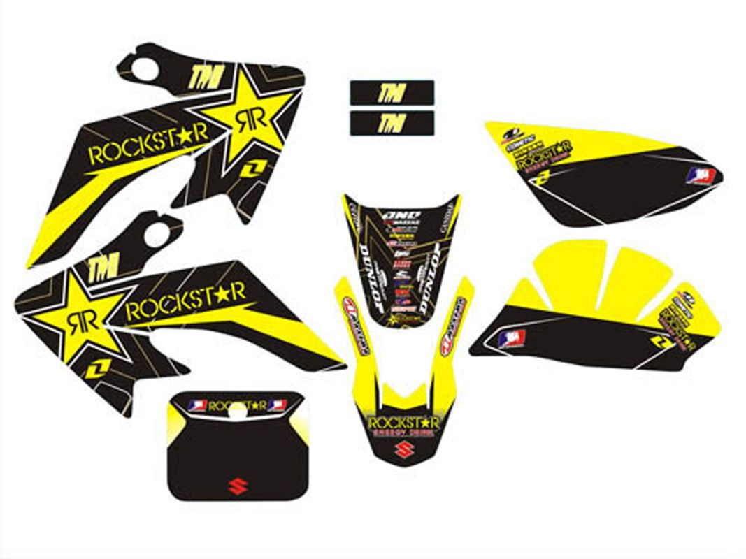 Tdr 3m graphics kit decals sticker for honda moto dirt pit bike parts xr crf50 brand new free shipping hhy