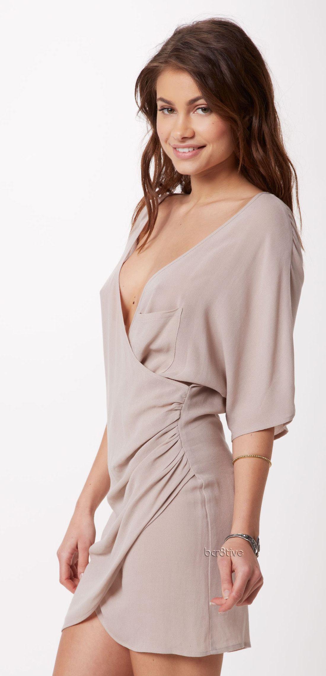 ále by alessandra Wind Blown Wrap Dress