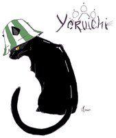 Yoruichi in cat form by GothicHikage | C♕ttitude | Pinterest ...