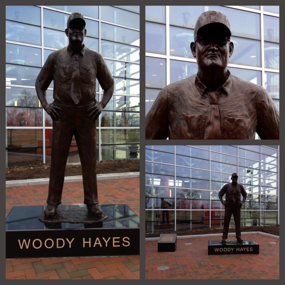 Ohio state university brutus buckeye statue - Statue