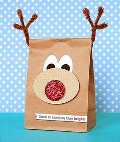 Bolsas para regalo navideño con bolsas de papel kraft – Dale Detalles
