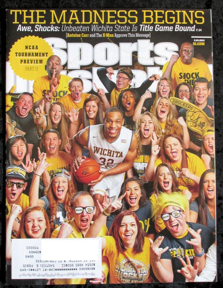 Sports Illustrated March 24 2014 3/24/14 Wichita State