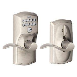 Elegant Schlage Combination Front Door Lock