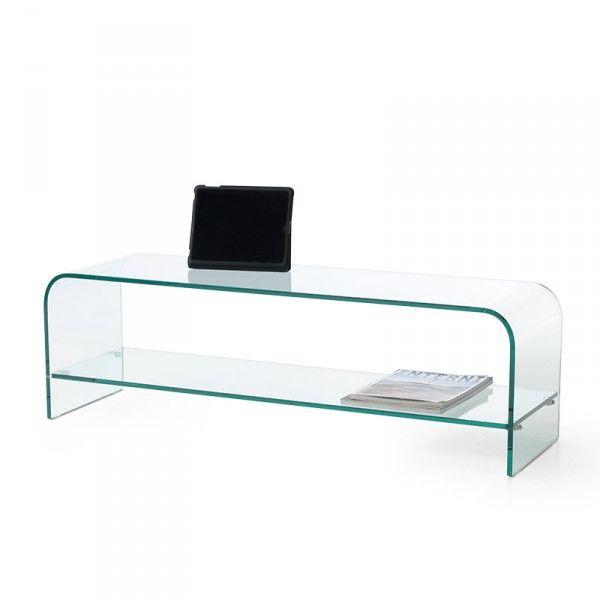 Mobili vetro curvato porta tv porta tv vetro curvato pinterest porta tv tvs e mobili - Mobili porta tv in vetro ...