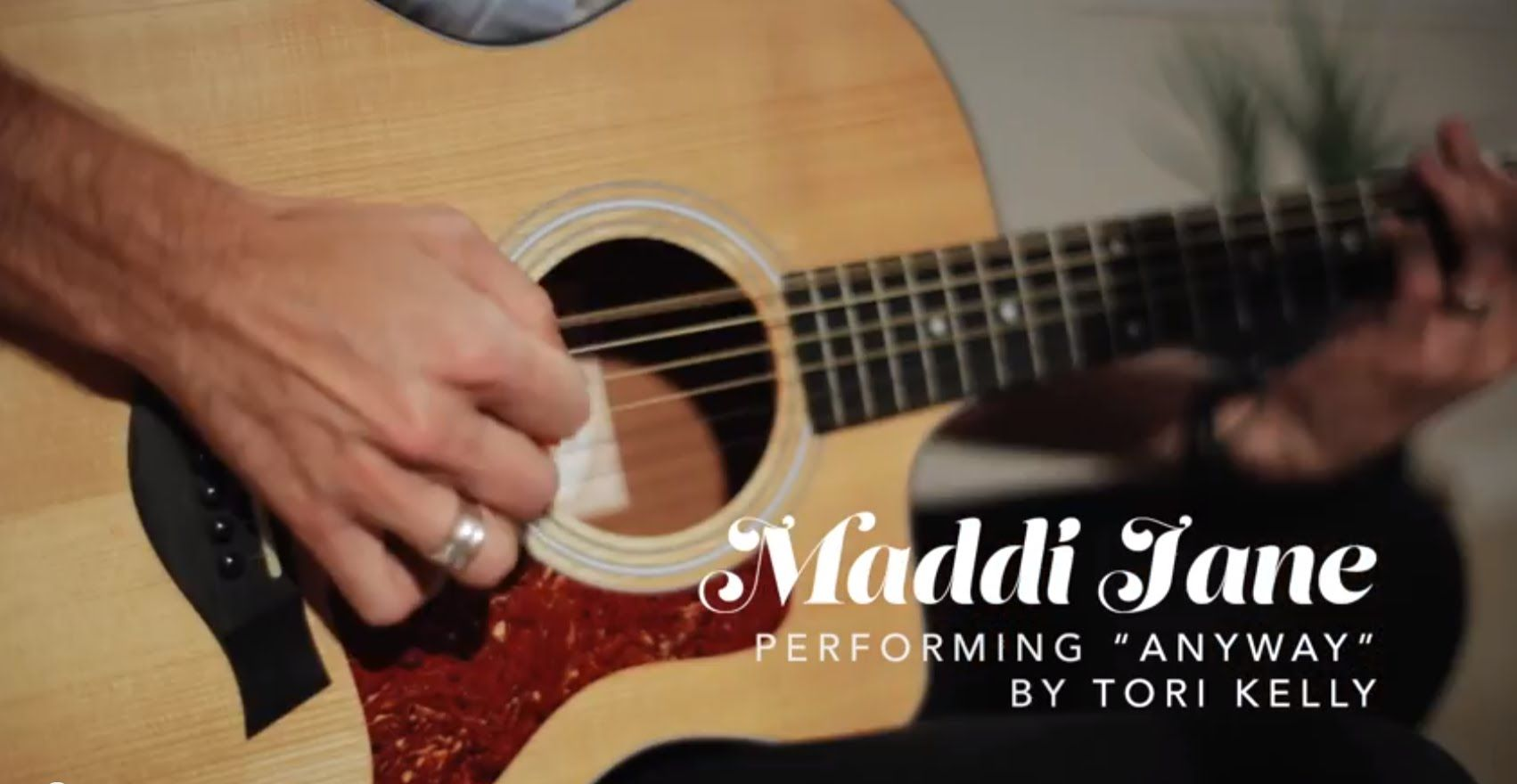 Maddi Jane Anyway Official Music Video Pinterest