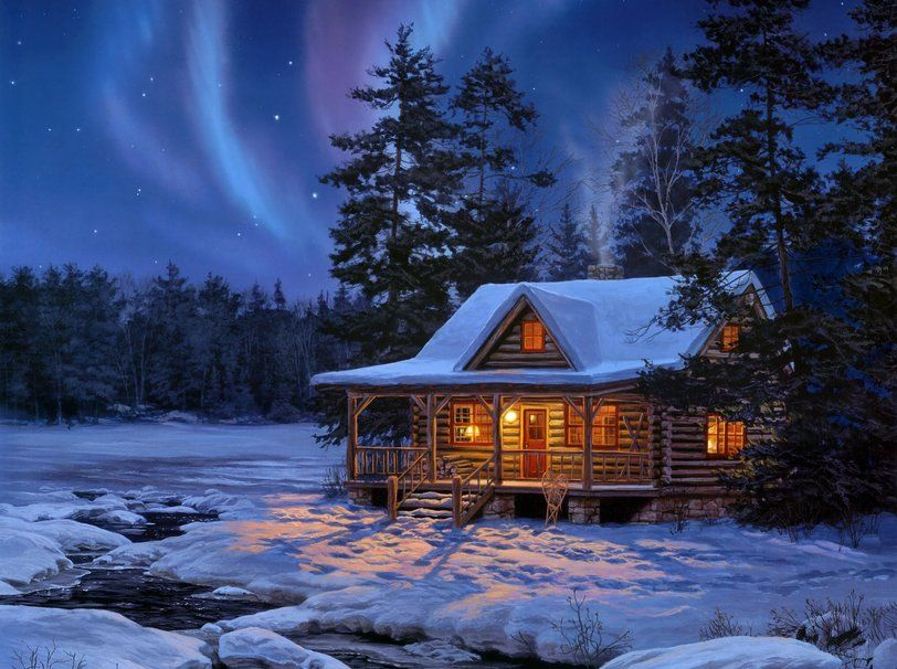 Preparing for Gorgeously Cold Winter Months in Buried in Snow Country Homes  | Snow cabin, Cabins in the woods, Winter cabin