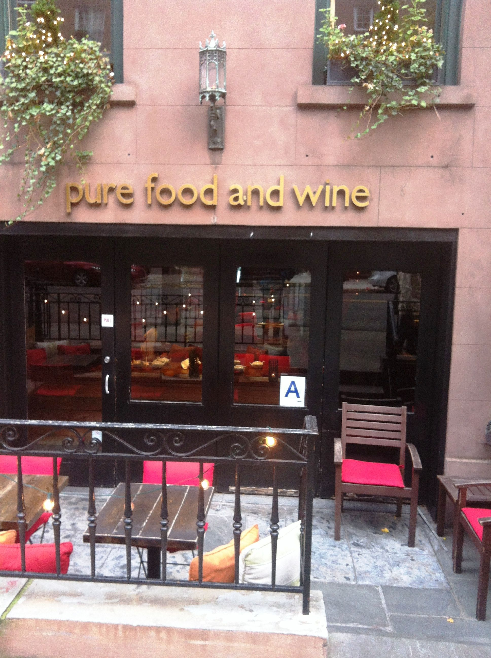 Nyc Vegan Pure Food Wine Gramercy Flatiron Worldwide