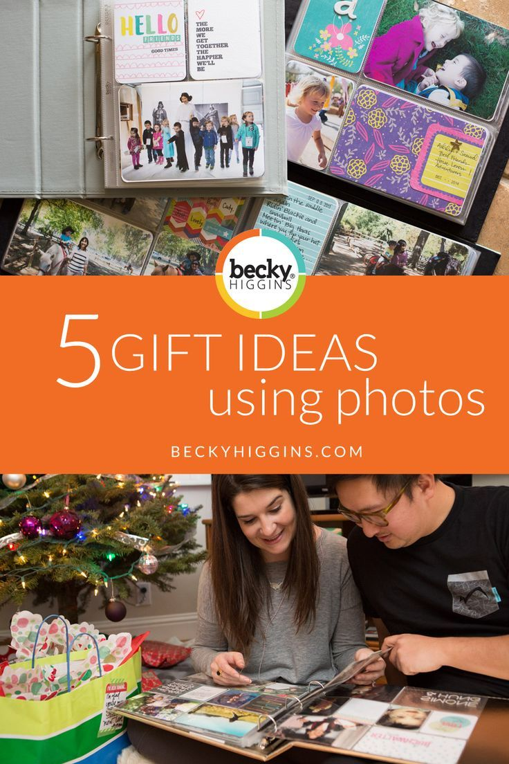 The gift of memories becky higgins project life and gift great gift ideas using photographs giving the gift of memories gifts that will last negle Image collections