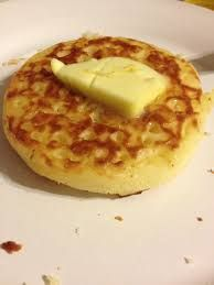 It has to be...crumpets