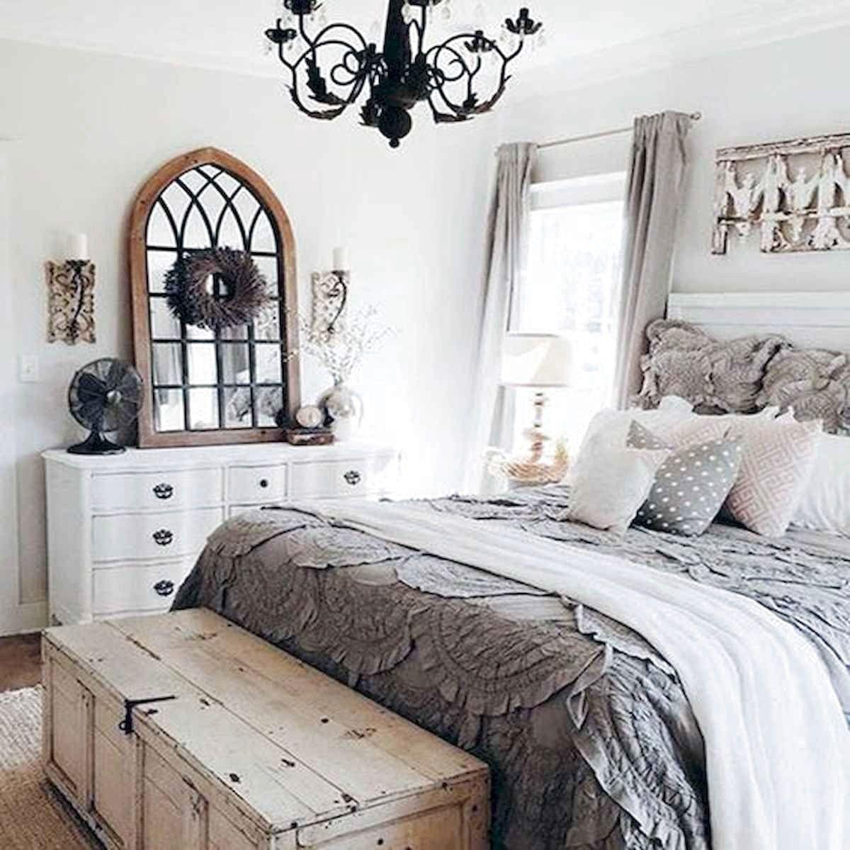 ✓72 Favourite Farmhouse Master Bedroom Decor Ideas ...