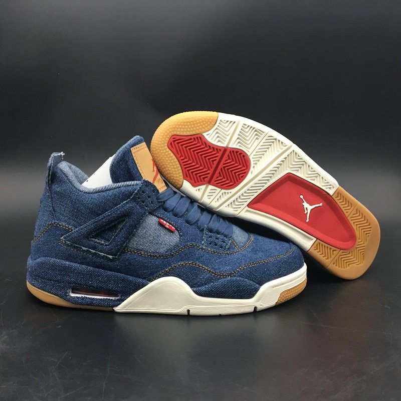 ddea94babe9404 Travis Scott Debuts Upcoming Levis x Air Jordan 4