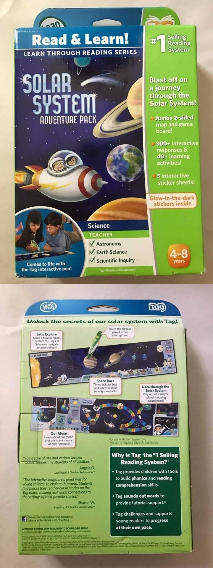 Game Cartridges and Game Books 177916: Brand New Leapfrog Leapreader Solar System Adventure Pack Learning Toys Kids -> BUY IT NOW ONLY: $33.14 on eBay!