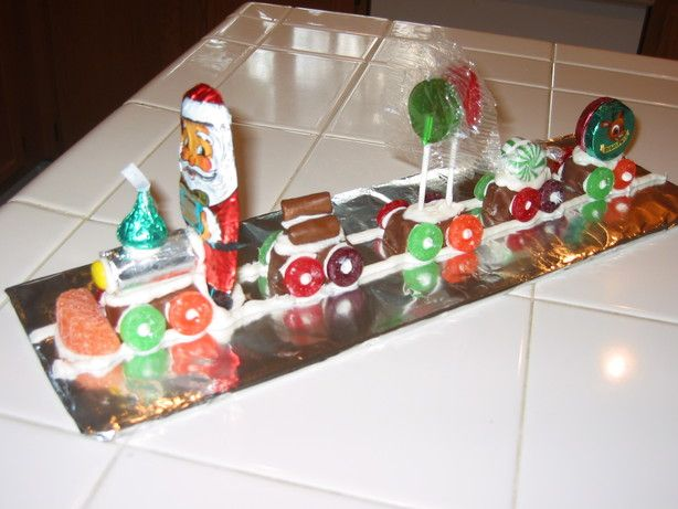 Christmas Candy Train.Candy Christmas Train