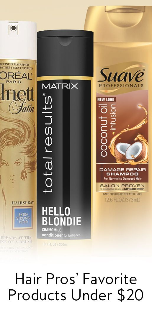 Hair-Pros Swear By These Under $20 Products