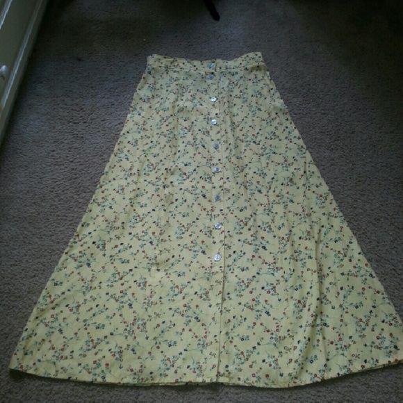 Long skirt Good condition Skirts Maxi