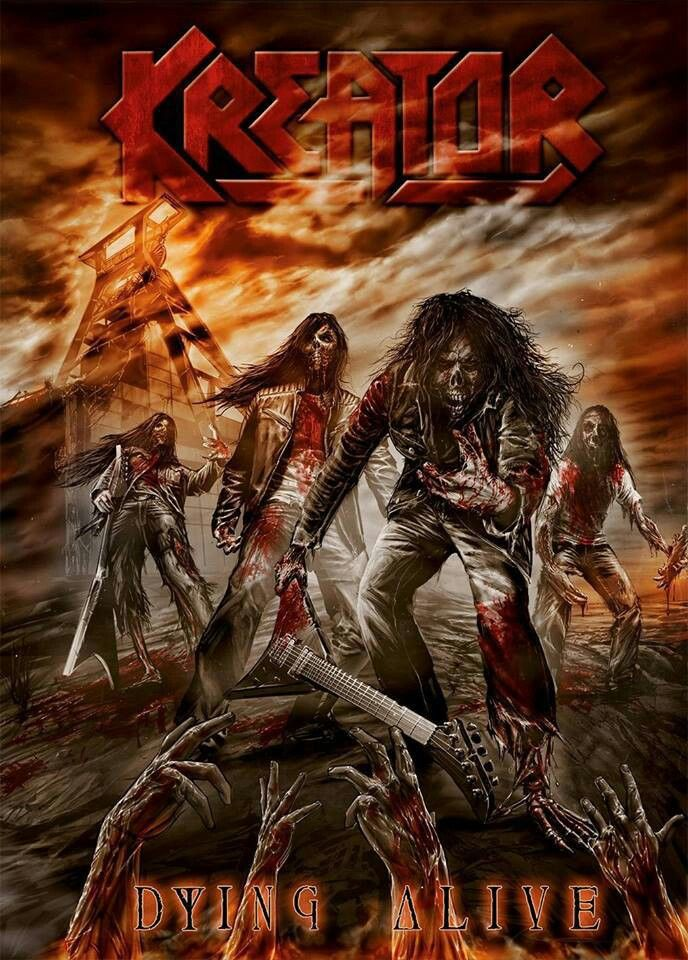 Kreator ~ Dying Alive