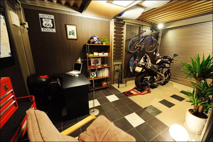 Man Cave Garage Magazine : Let s see your man castle page advrider garage