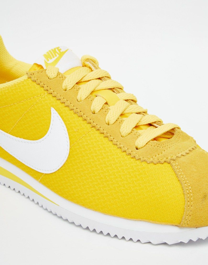 4b0d0581d620 Image 4 of Nike Maize Yellow Classic Cortez Trainers