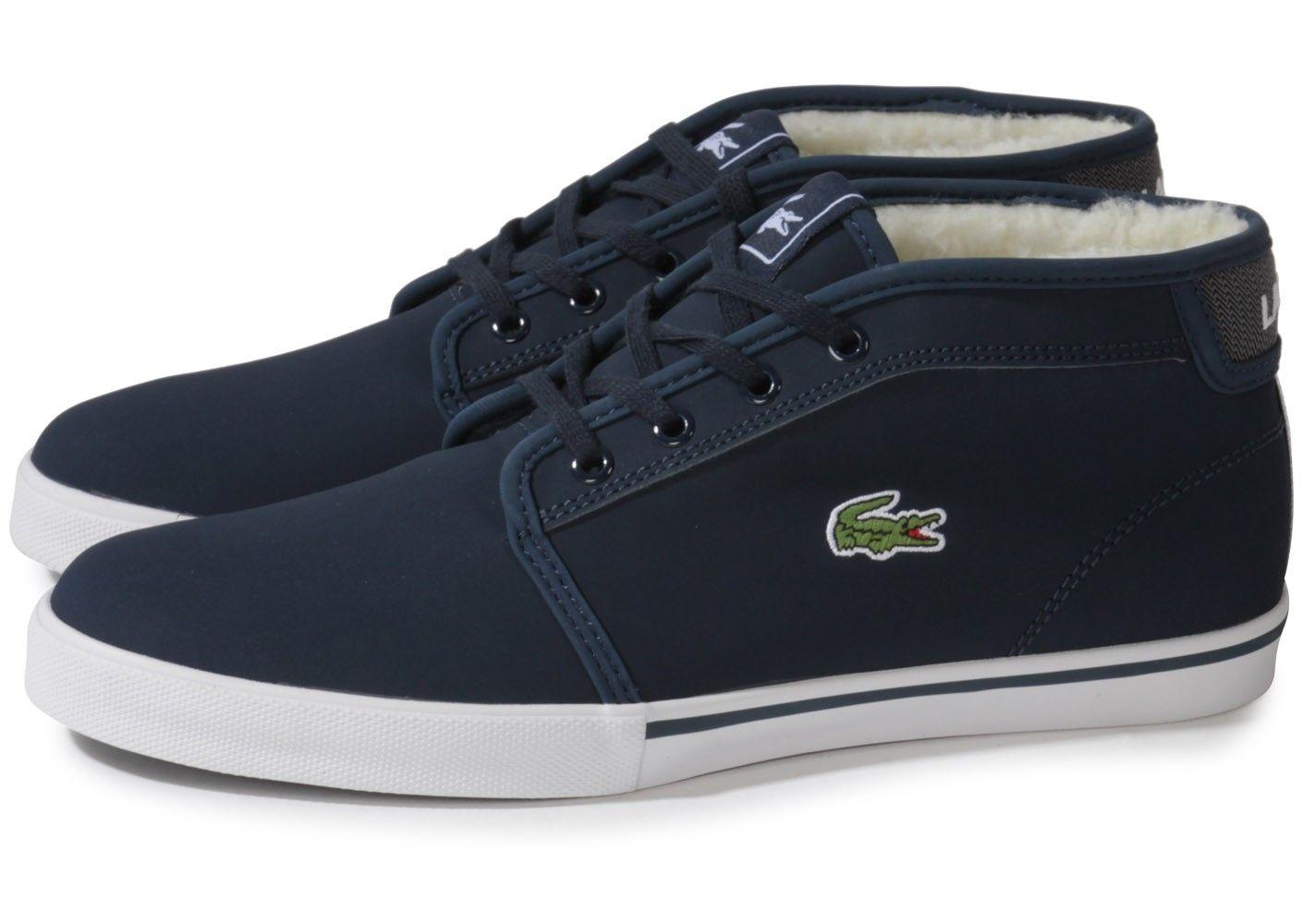 b81f9a1b6ce Chaussures Lacoste Homme Noir