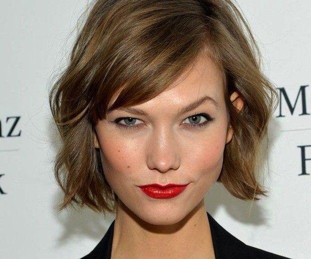 Melena corta flequillo buscar con google looks - Peinados en melenas ...