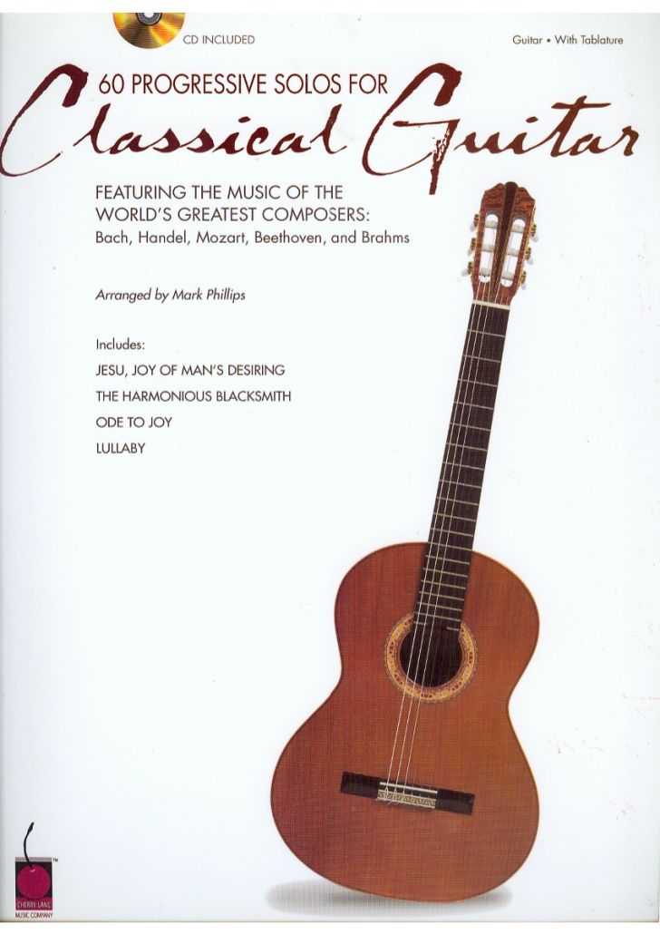 60 solos de guitarra clasica conocimiento musical for Partituras guitarra clasica