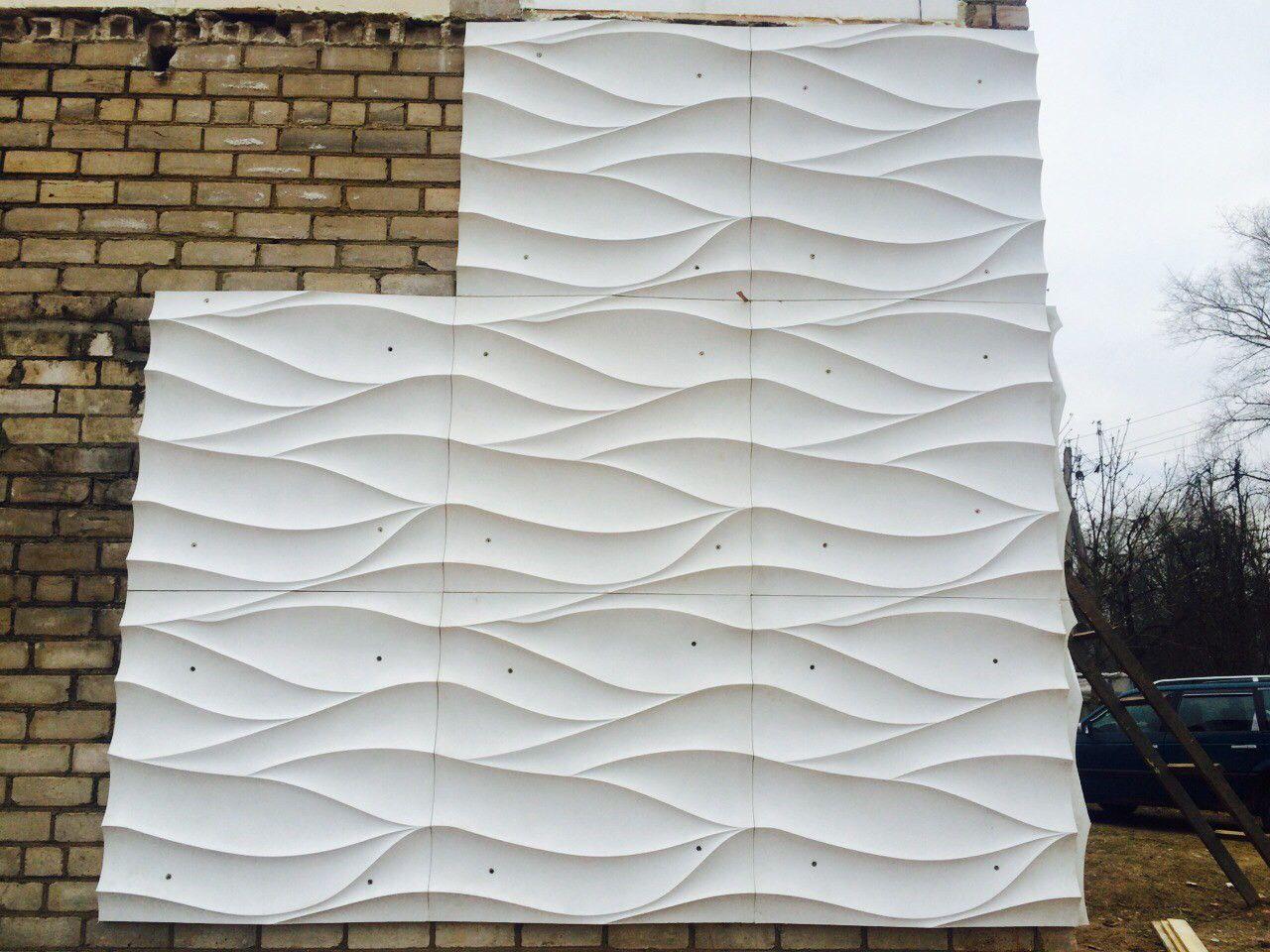 Использование стеклофибробетона для фасада