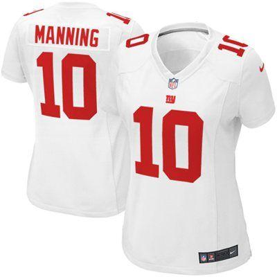 eli manning womens jersey