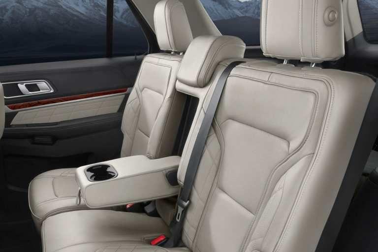 Platinum Interior Of 2017 Ford Explorer