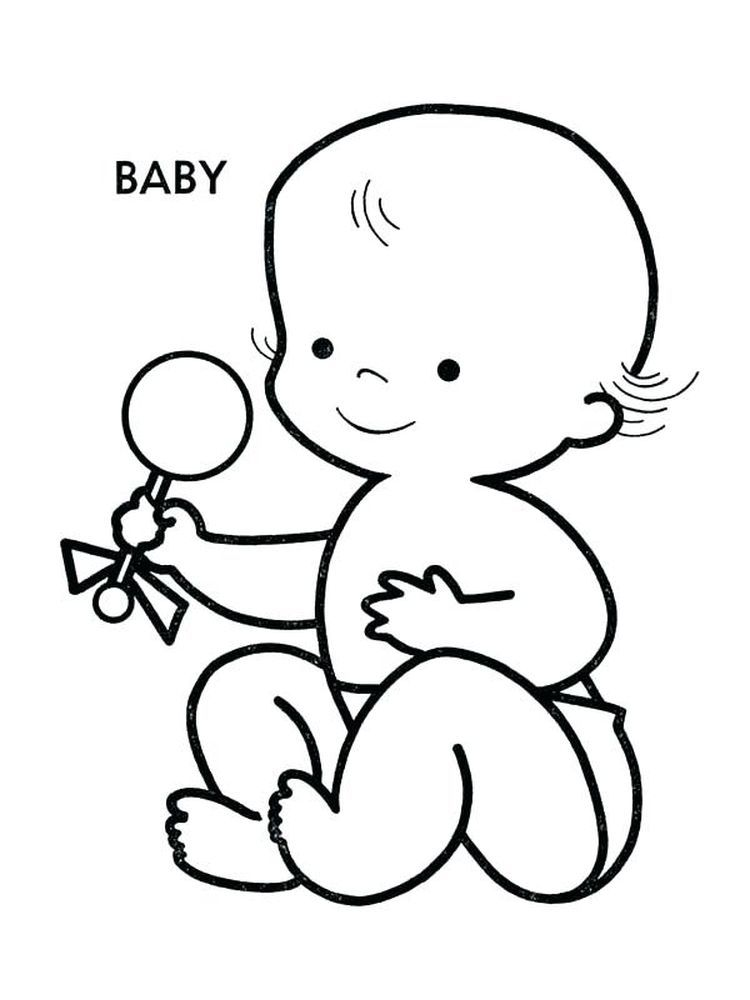 Baby Sister Coloring Pages Free Below Is A Collection Of Cute Baby Coloring Page That You Can Downl Baby Coloring Pages Coloring Pages Coloring Pages For Kids