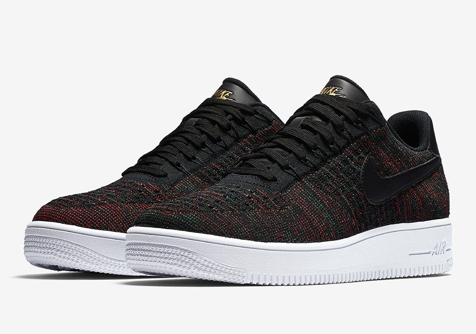 timeless design 375e8 10aef  sneakers  news Nike Air Force 1 Low Flyknit Releasing In Burgundy Uppers