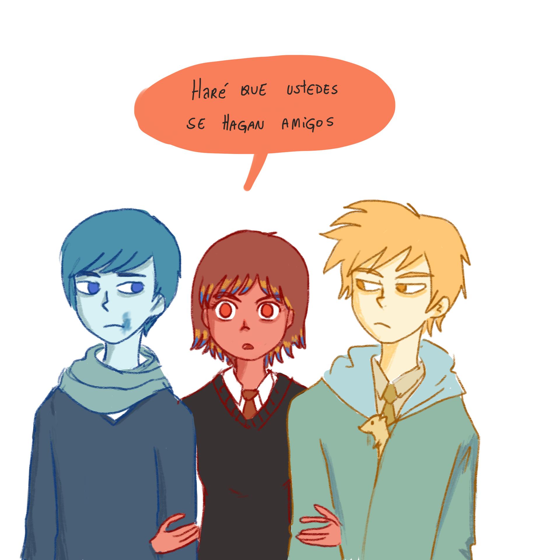 Bicolor Colores Primarios Caricaturas Novelas Juveniles
