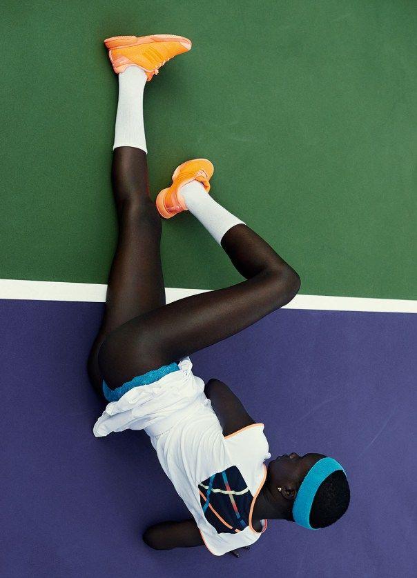 Ataui Deng by Julia Noni for Fat Man Magazine Spring Summer 2014