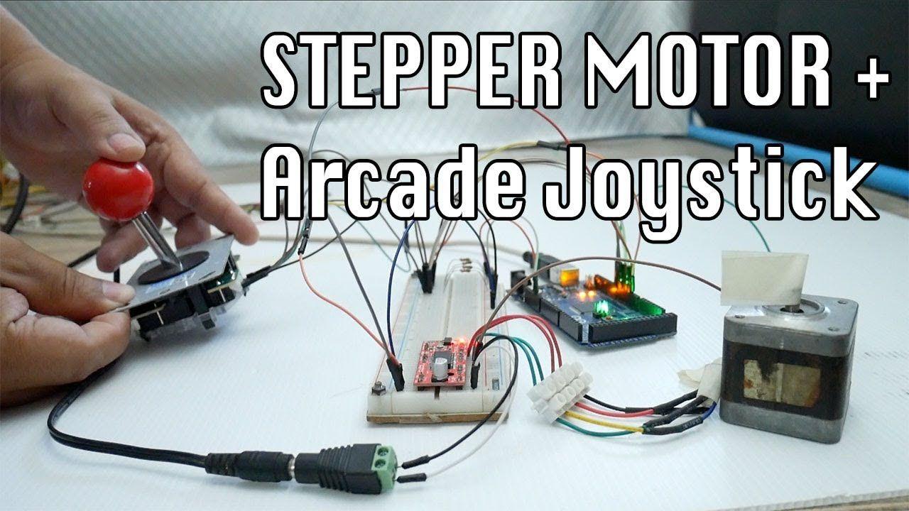 Stepper Motor Control With Arcade Joystick Arcade Joystick Stepper Motor Joystick
