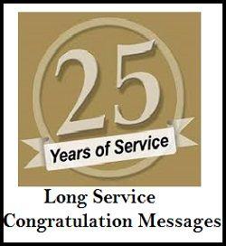 Long Service Congratulation Messages Congratulations Quotes Award Quotes Service Quotes