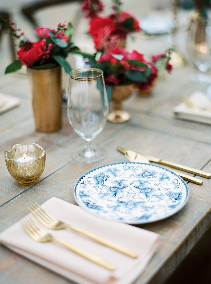 Beautiful rustic table setting ideas | fabmood.com