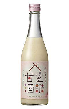 玄米甘酒。AMAZAKE.Unpolished rice liquor.