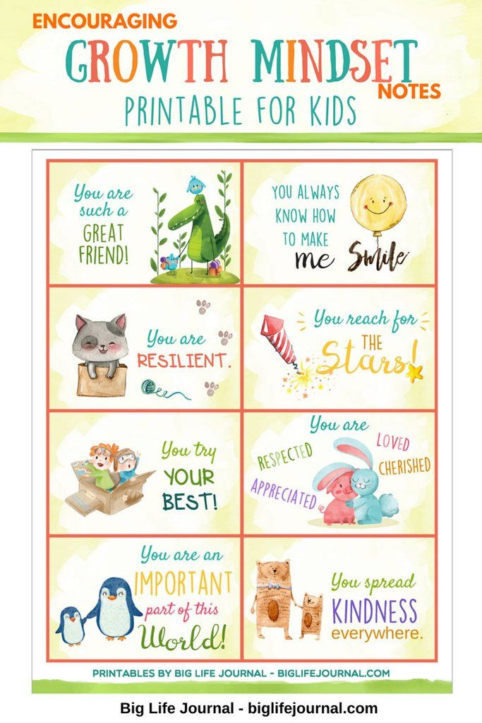 ab3bfa7b 7 Ways To Address Your Child's Negative Self-Talk – Big Life Journal ...