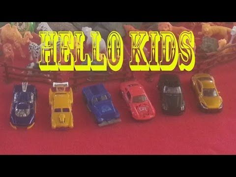 toy for kids with animals video toy for kids tiger car cow