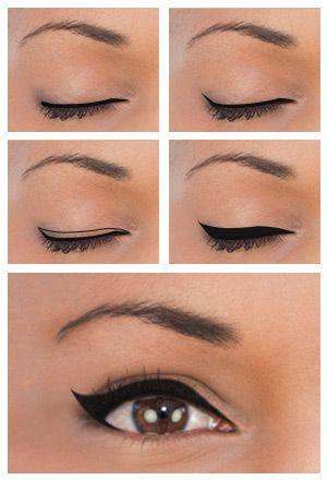 Eyeliner styles for eye shape