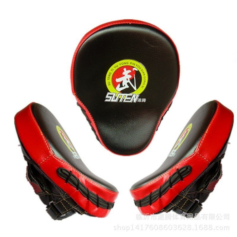 New Pu Leather Training Equipment Punching Kicking Pad Taekwondo Target Curved Target Mma Boxing Curved Punch Pad S9 Mma Boxing Training Equipment Taekwondo