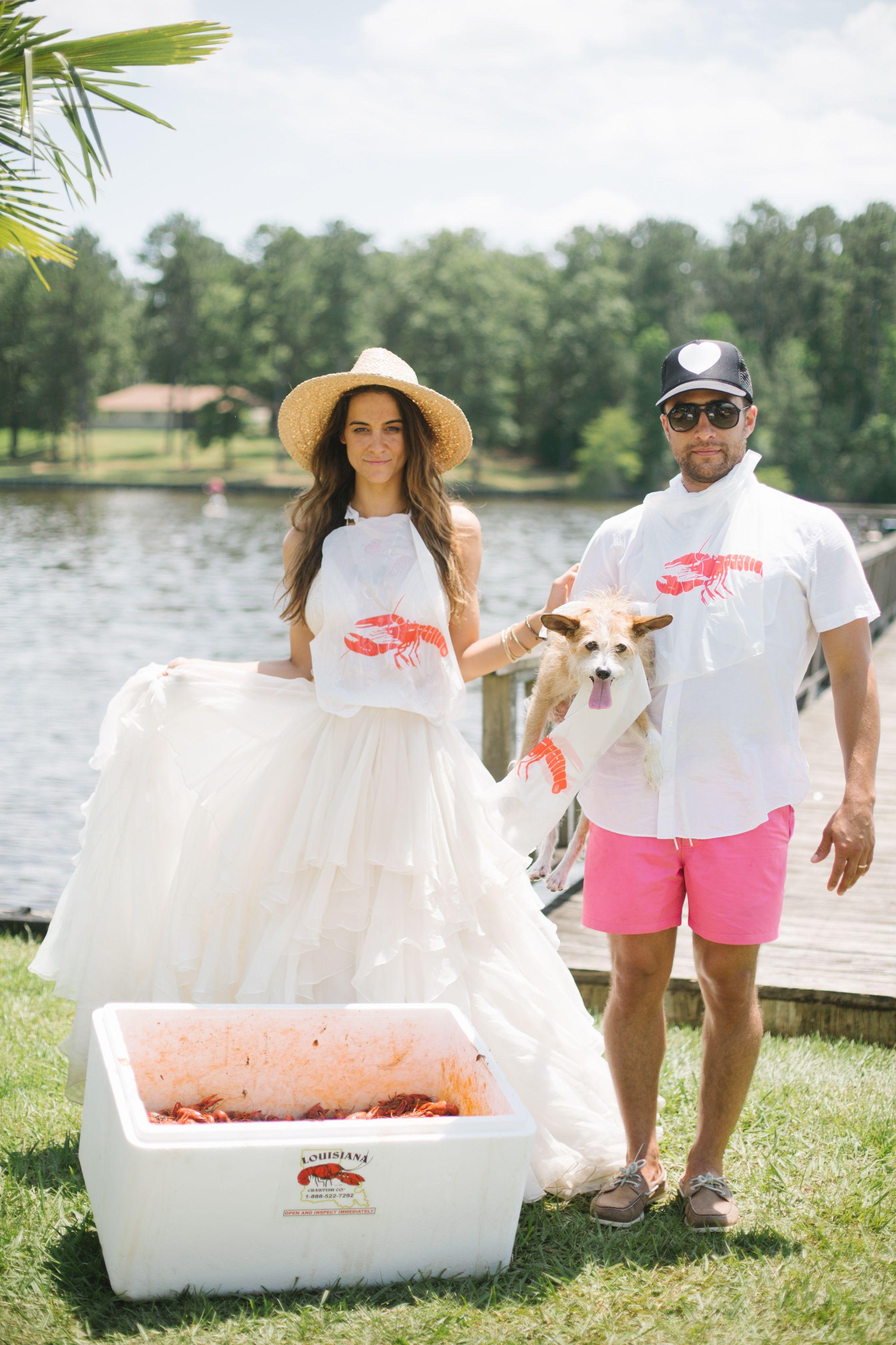 Show Me Your Mumu Bohemian Lakeside Wedding Bayou