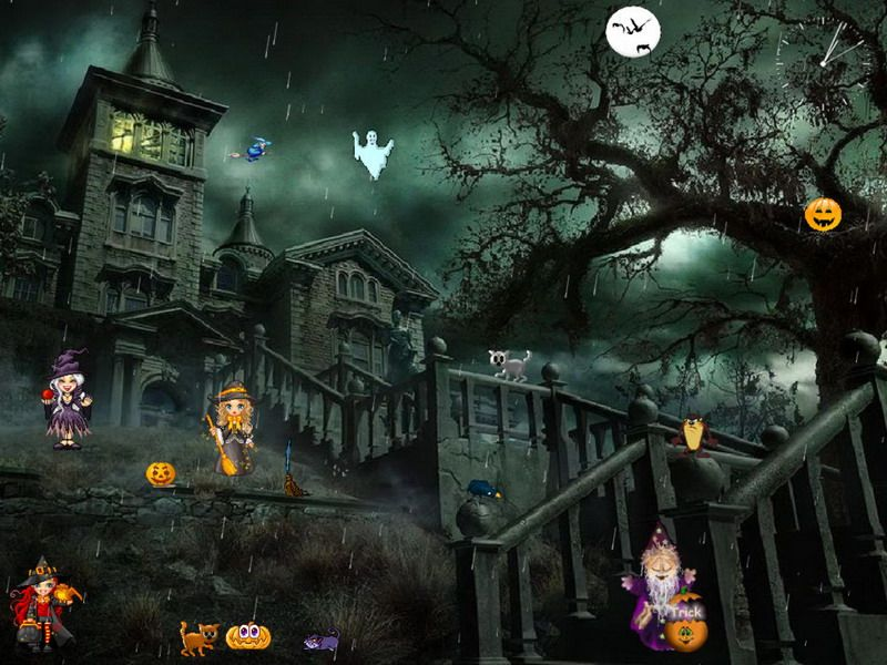 Free Halloween Screensavers with Sound | free halloween ...