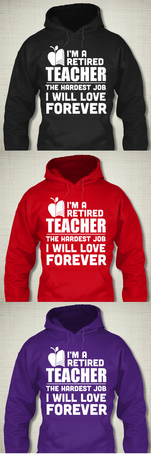 I'm a Retired Teacher and I love it! Available here https://teespring.com/603_tch_rthrd/?var=pnt1