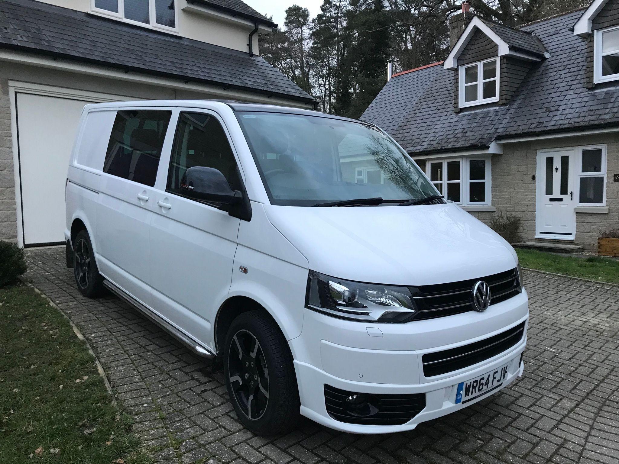 Price £23,500. This VW Sportline Kombi van is of a very