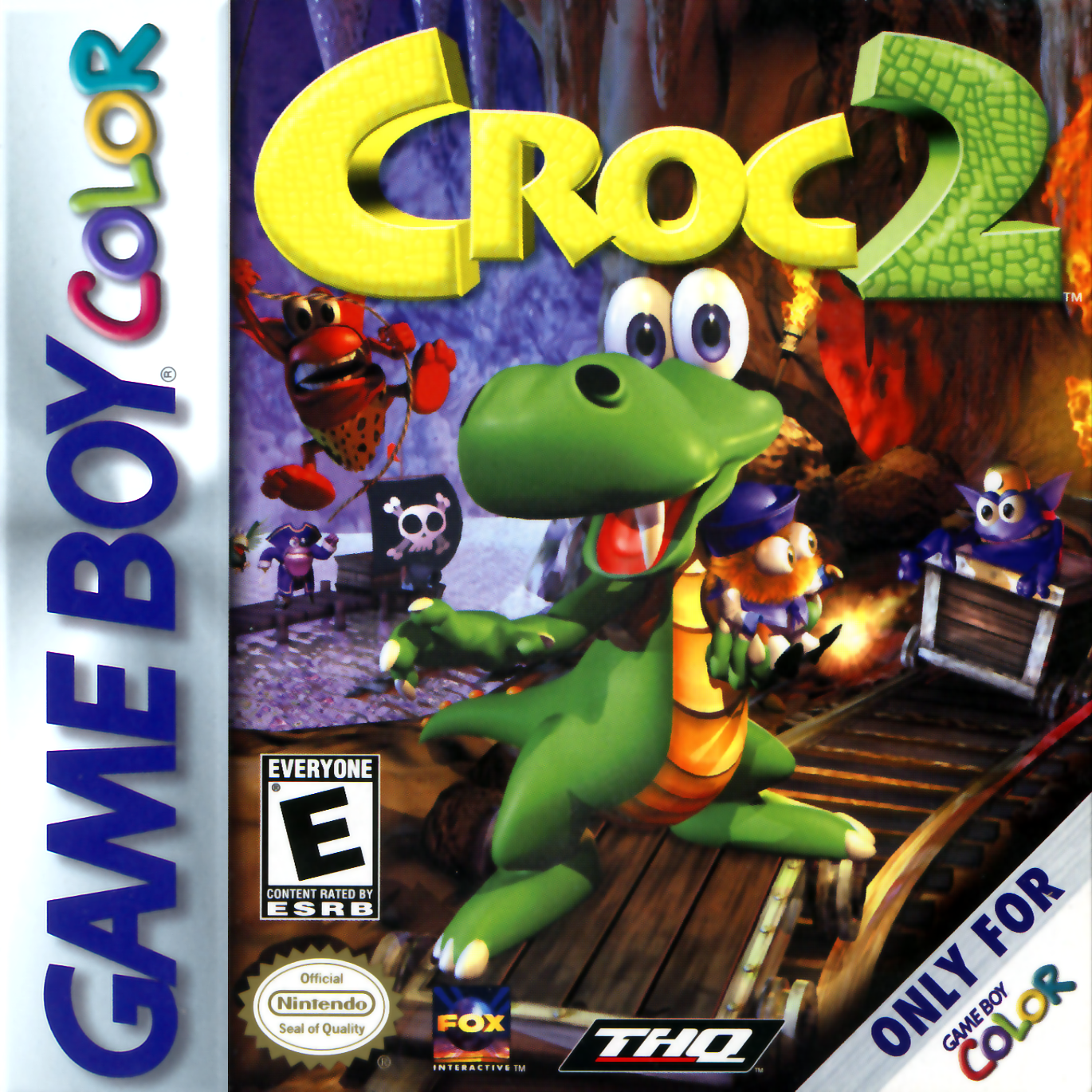 Croc 2 Nintendo Game Boy Color Gameboy, Color games