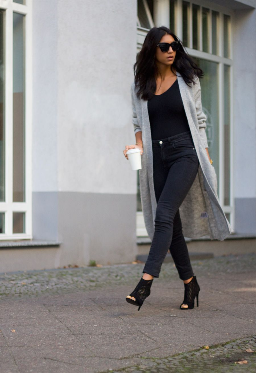 grey and black / Not Your Standard | Things to Wear | Pinterest