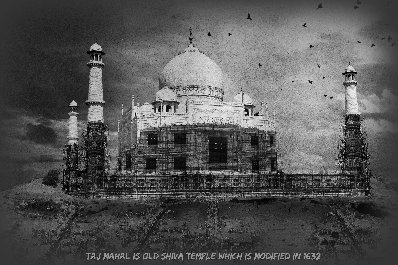 Taj Mahal- mysterious India